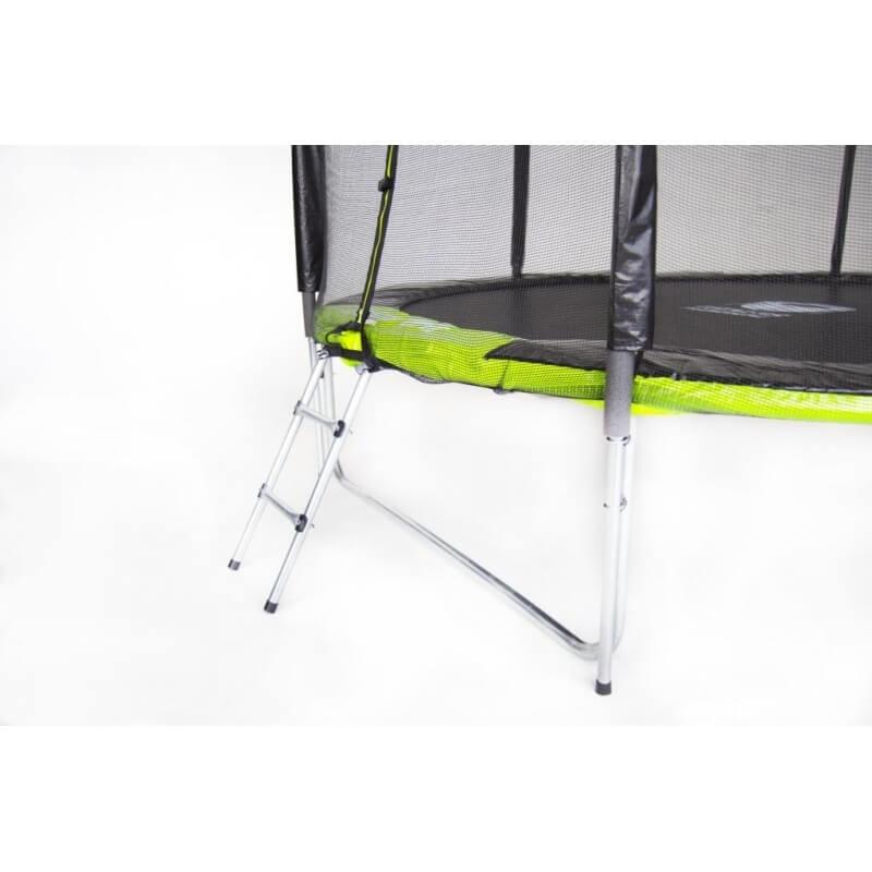 """Батут """"Fitness Trampoline GREEN"""" (12 FT) Extreme (усиленные опоры). Диаметр - 366 см. Нагрузка - 180 кг."""