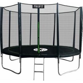"""Батут """"ProFit Premium Black"""" (10ft) PRO с внешней сеткой и лестницей. Диаметр - 312 см. Нагрузка - 180 кг."""