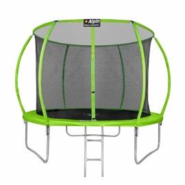 """Батут """"Alpin SKY ASK"""" (10ft) с внутренней сеткой и лестницей (усиленные опоры). Диаметр - 312 см. Нагрузка - 150 кг."""