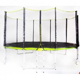 Батут Fitness Trampoline GREEN 15 FT Extreme (усиленные опоры)