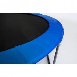 """Батут """"Atlas Sport"""" (8ft) BLUE с внутренней сеткой и лестницей. Диаметр - 252 см. Нагрузка - 120 кг."""