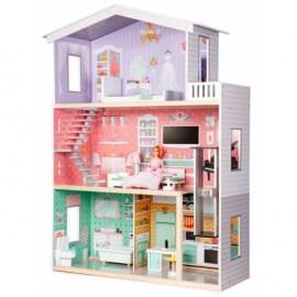 Кукольный домик ECO TOYS Rainbow (4128)