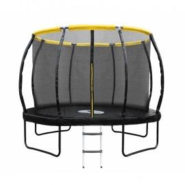Батут ProFit Premium 312см с внутренней сеткой и лестницей