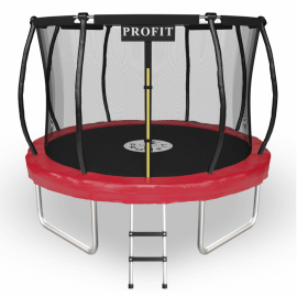 """Батут """"ProFit"""" (10 ft) RedLine с внутренней сеткой и лестницей. Диаметр - 312 см. Нагрузка - 150 кг."""