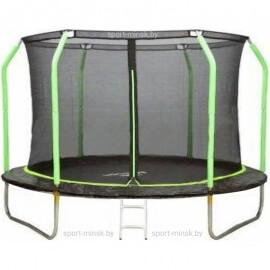 """Батут """"MiSoon"""" (14ft) BASIC с внутренней сеткой и лестницей. Диаметр - 425 см. Нагрузка - 150 кг."""