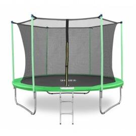 """Батут """"Happy Jump"""" (10ft-i) PRO с внутренней сеткой и лестницей. Диаметр - 312 см. Нагрузка - 150 кг."""