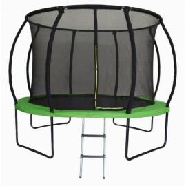 Батут Sundays Champion Premium (14ft) с внутренней сеткой и лестницей. Диаметр - 435 см. Нагрузка - 180 кг.