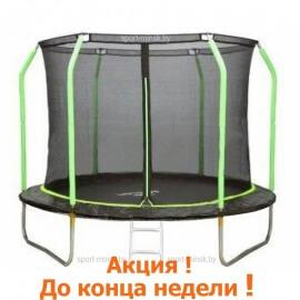 """Батут """"MiSoon"""" (8ft) Basic с внутренней сеткой и лестницей. Диаметр - 252 см. Нагрузка - 120 кг."""