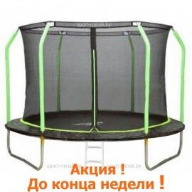 """Батут """"MiSoon"""" (12ft) BASIC с внутренней сеткой и лестницей. Диаметр - 366 см. Нагрузка - 150 кг."""