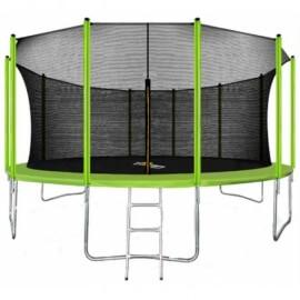 """Батут """"Arland"""" (16FT) с внутренней сеткой и лестницей. Диаметр - 487 см. Нагрузка - 160 кг."""