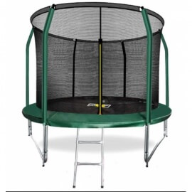 """Батут """"Arland"""" (10FT) Премиум с внутренней сеткой и лестницей. Диаметр - 305 см. Нагрузка - 150 кг."""